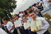 Nicaraguan children celebrate 13 years of free education
