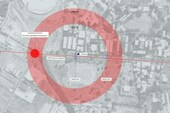A still from EAAF/SITU Research video, giving a false impression of the distances involved