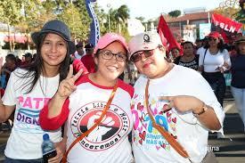 Pic from La Voz del Sandinismo: 'The Revolution Continues'