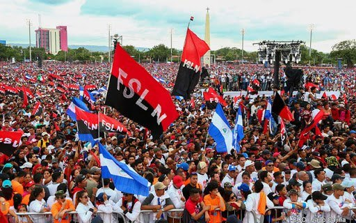 Nicaraguans celebrate 42nd anniversary of the Revolution, 19 July 2021